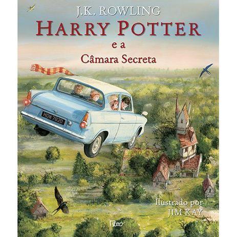 Imagem de Livro - Harry Potter e a câmara secreta - Ilustrado