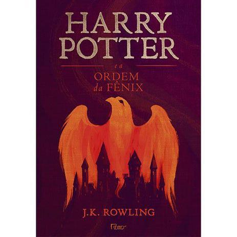 Imagem de Livro - Harry Potter e a ordem da fênix