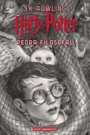 Imagem de Livro - HARRY POTTER E A PEDRA FILOSOFAL (CAPA DURA) – Edição Comemorativa dos 20 anos da Coleção Harry Potter