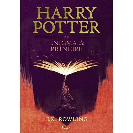 Imagem de Livro - Harry Potter e o enigma do príncipe