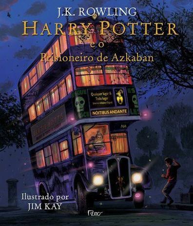 Imagem de Livro - Harry Potter e o prisioneiro de Azkaban - Ilustrado