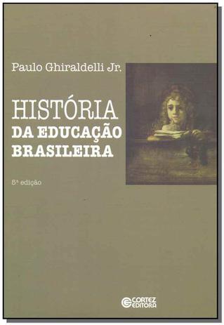 Imagem de Livro - História da educação brasileira