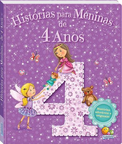 Imagem de Livro - Histórias para meninas...de 4 anos