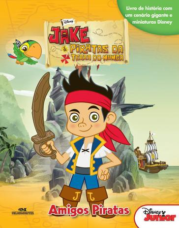 Livro Jake E Os Piratas Da Terra Do Nunca