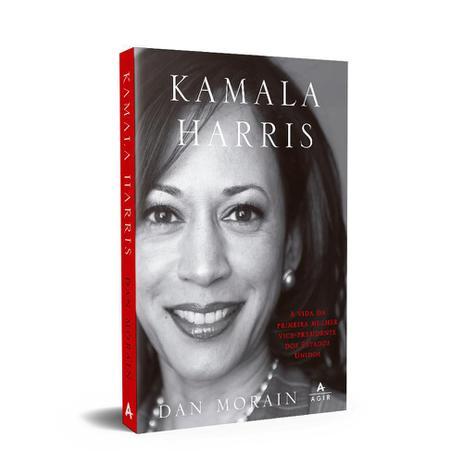 Imagem de Livro - Kamala Harris: A vida da primeira mulher vice-presidente dos Estados Unidos
