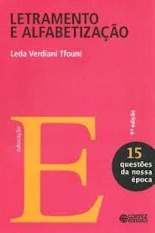 Imagem de Livro - Letramento e alfabetização