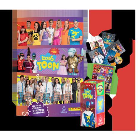 Imagem de Livro - Livro Ilustrado oficial Luccas Toon - Brochura + 10 envelopes de cromos