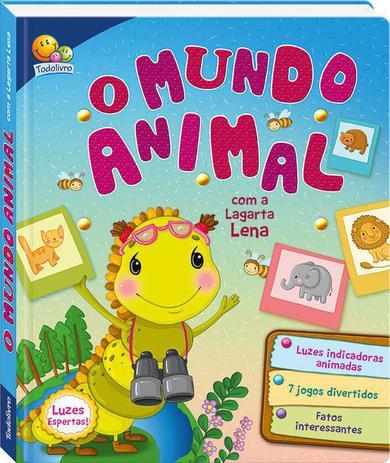 Imagem de Livro - Luzes espertas! O mundo animal com a lagarta Lena