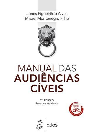 Imagem de Livro - Manual das Audiências Cíveis