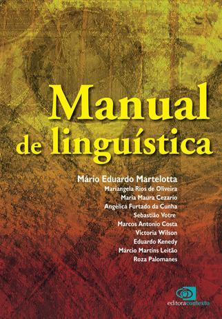 Imagem de Livro - Manual de linguística