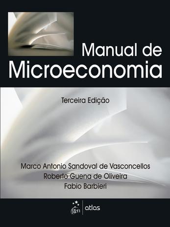 Imagem de Livro - Manual De Microeconomia