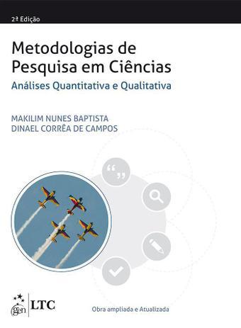 Imagem de Livro - Metodologias de Pesquisa em Ciências: Análise Quantitativa e Qualitativa