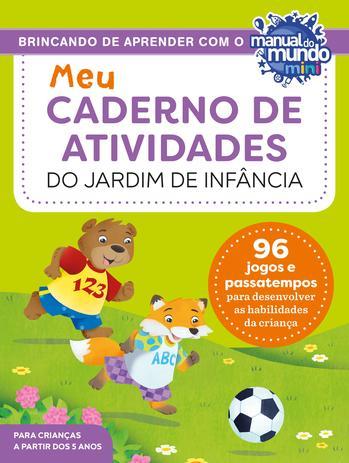 Imagem de Livro - Meu caderno de atividades do jardim de infância