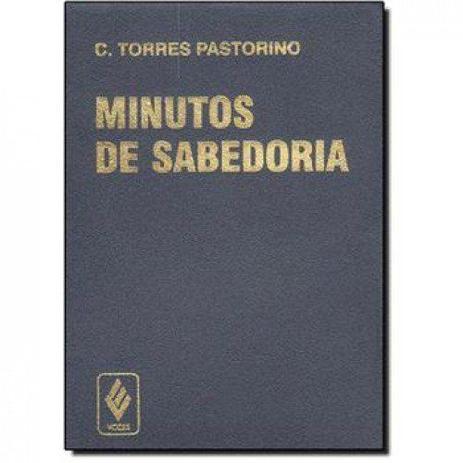 Imagem de Livro - Minutos de sabedoria - capa plástica