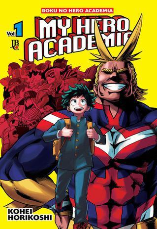 Imagem de Livro - My Hero Academia - Vol. 1