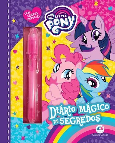 Imagem de Livro - My Little Pony - Diário mágico de segredos