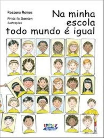 Imagem de Livro - Na minha escola todo mundo é igual