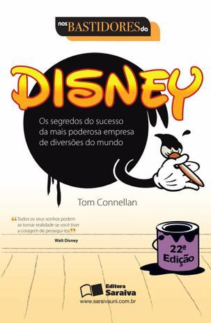 Imagem de Livro - Nos bastidores da Disney