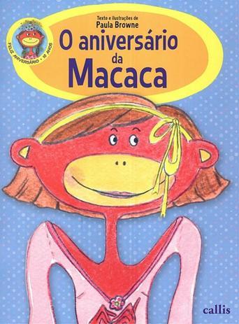 Imagem de Livro - O aniversário da macaca