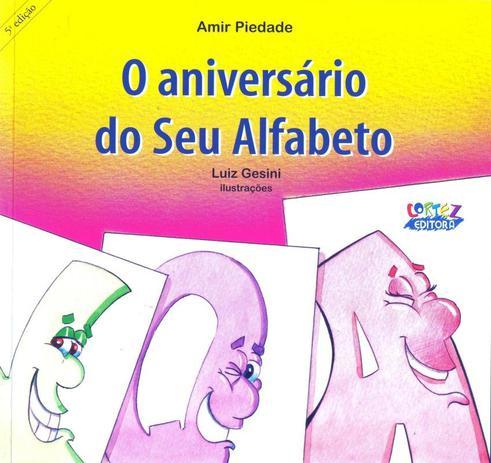 Imagem de Livro - O aniversário do Seu Alfabeto