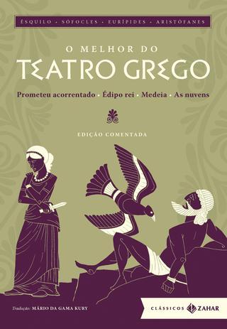 Imagem de Livro - O melhor do teatro grego: edição comentada (Clássicos Zahar)