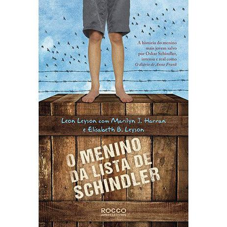 Imagem de Livro - O menino da lista de Schindler
