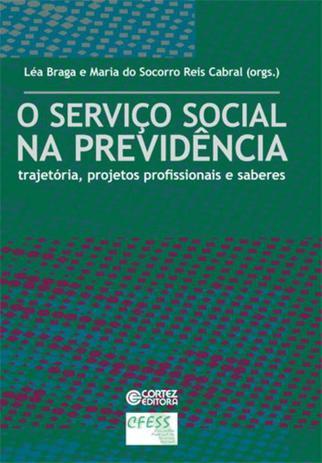 Imagem de Livro - O Serviço Social na previdência