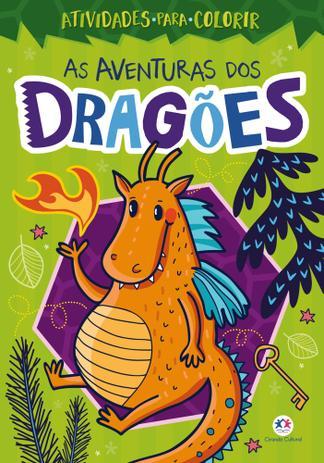 Imagem de Livro para colorir - as aventuras dos dragões