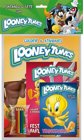 Imagem de Livro - Pintando o sete com...Looney tunes