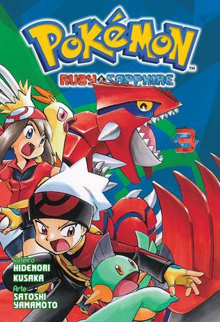 Imagem de Livro - Pokémon Ruby & Sapphire Vol. 3