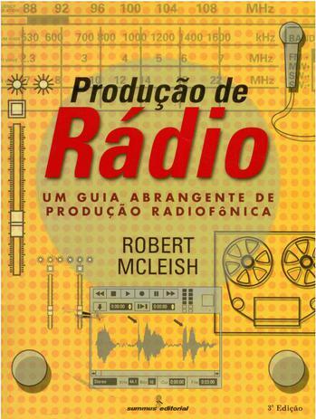 Imagem de Livro - Produção de rádio