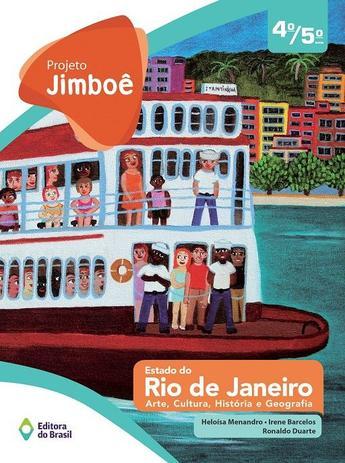 Imagem de Livro - Projeto Jimboê - Estado do Rio de Janeiro - 4º/5º - Ensino fundamental I