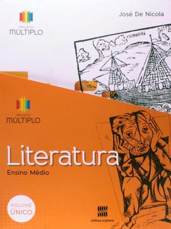 Imagem de Livro - Projeto Multiplo - Literatura - Volume único
