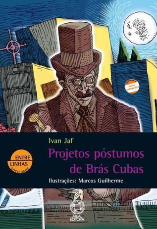 Imagem de Livro - Projetos póstumos de Brás Cubas