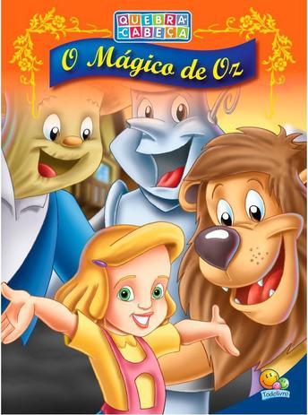 Livro Quebra Cabeca O Magico De Oz Livros De Literatura