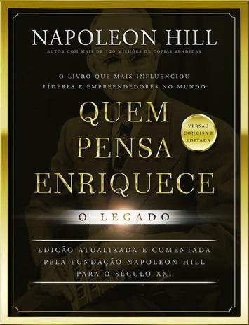Imagem de Livro - Quem pensa enriquece: o legado - LIVRO DE BOLSO