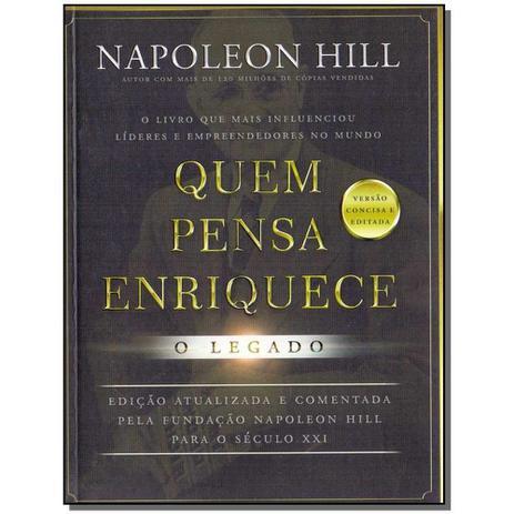 Imagem de Livro - Quem pensa enriquece