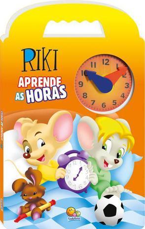Imagem de Livro - Riki aprende as horas