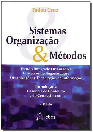 Imagem de Livro - Sistemas, Organização & Métodos