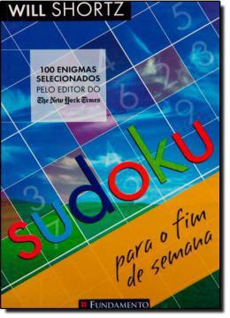 Imagem de Livro - Sudoku Para O Fim De Semana