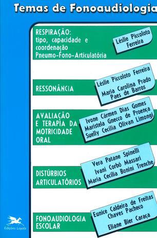 Imagem de Livro - Temas de fonoaudiologia