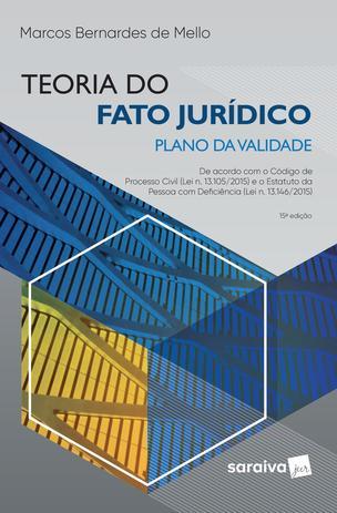 Imagem de Livro - Teoria do fato jurídico - plano da validade - 15ª edição de 2019