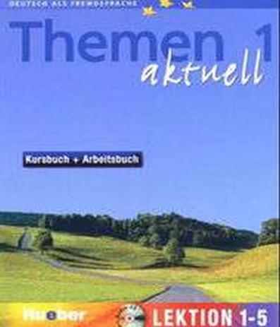 Imagem de Livro - Themen aktuell 1 KB + AB Lekt 1-5 + audio CD und CD rom