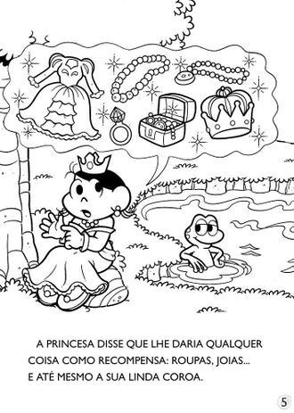 Livro Turma Da Monica Classicos Ilustrados Para Colorir Livros