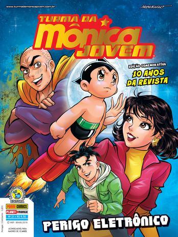 Imagem de Livro - Turma Da Mônica Jovem Ed. 21 (Série 2): Perigo Eletrônico