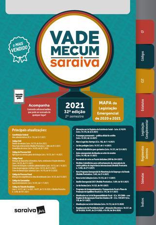 Imagem de Livro - Vade Mecum 2021 Saraiva - Tradicional - 32ª Edição