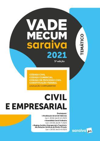 Imagem de Livro - Vade Mecum Civil e Empresarial - 5 ª Edição 2021
