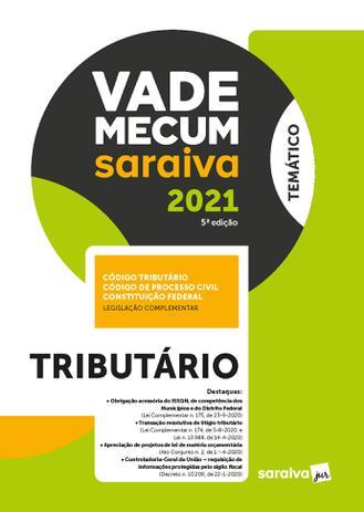 Imagem de Livro - Vade Mecum Tributário - 5 ª Edição 2021