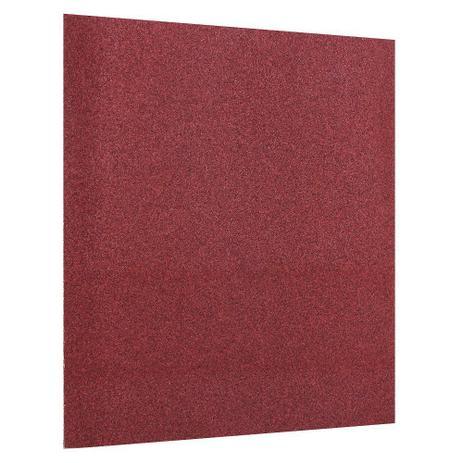 Imagem de Lixa Manual Vermelha Madeira Massa 120 BOSCH
