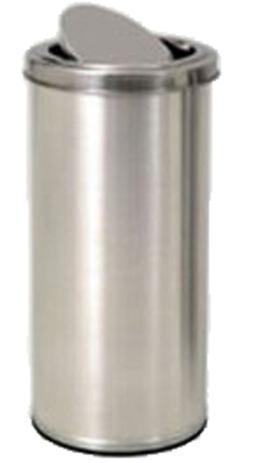 Imagem de Lixeira Inox de 12 Litros com Tampa Vai-e-Vem